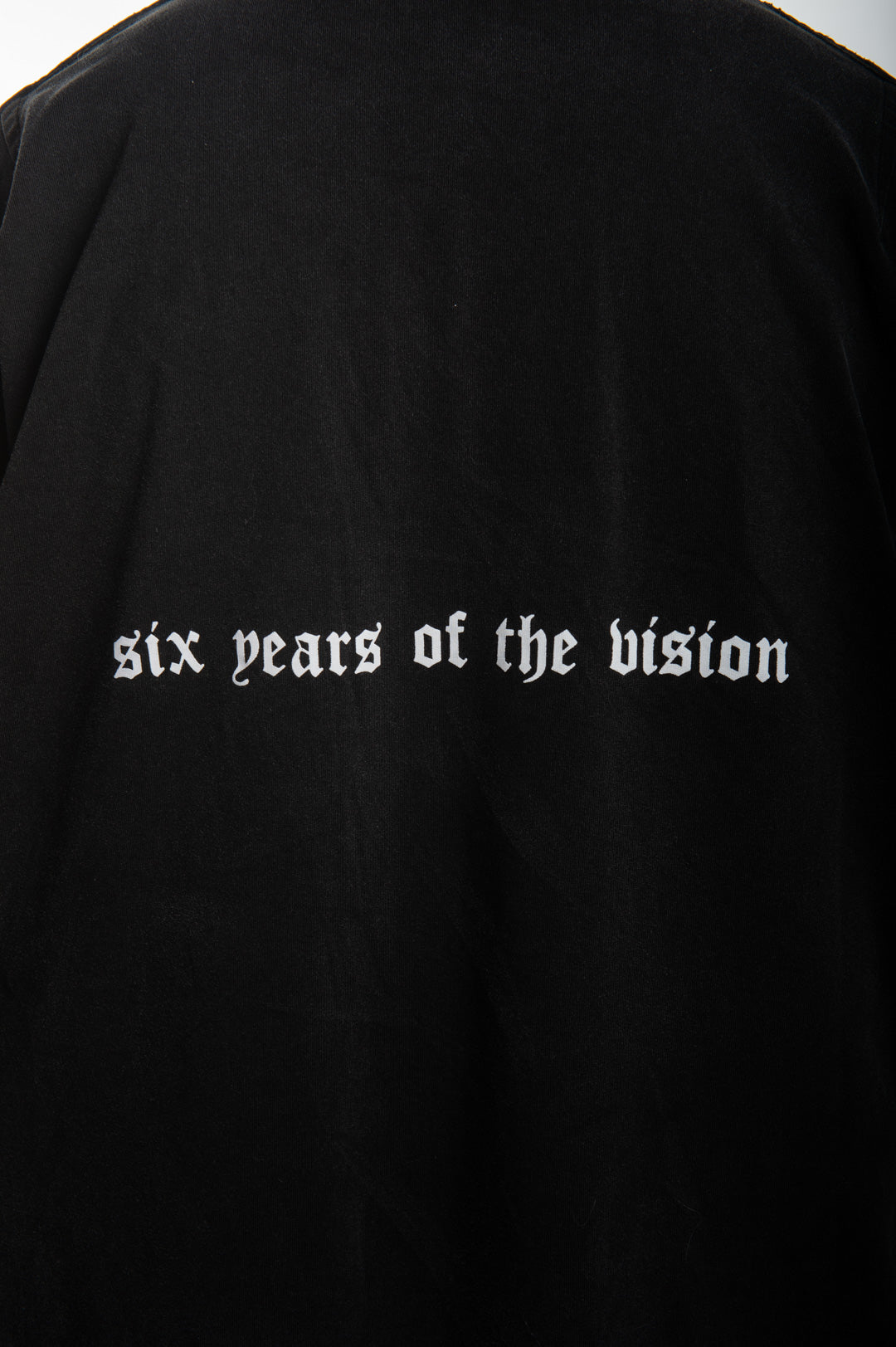 """SIX YEARS OF THE VISION"" Oversized Shirt - VINTAGE WASH"
