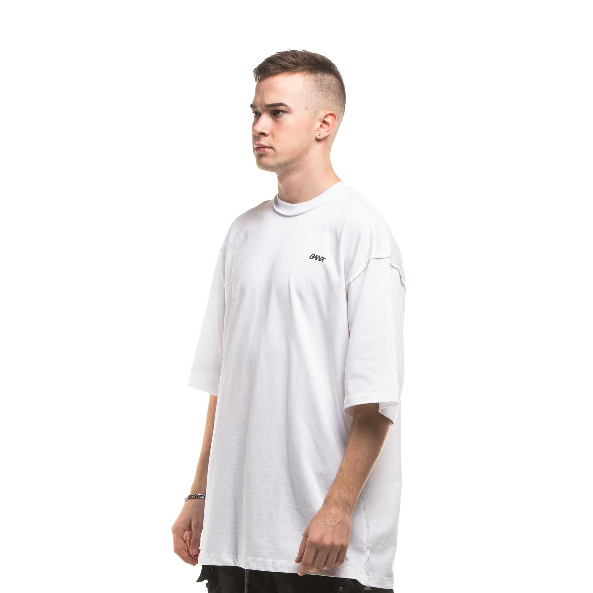 R-S REVERSIBLE SHIRT - WHITE