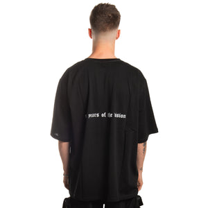 """SIX YEARS OF THE VISION"" Oversized Shirt - BLACK"