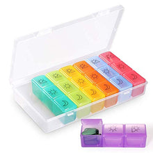 Moisture Proof Pill Box with Silicone Seal