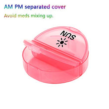 Daily Pill Organizer (Twice-a-Day) - Weekly AM/PM Pill Box
