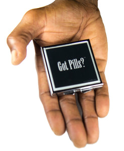 Rhetoric (Black) - Got Pills? Personal Pill Box