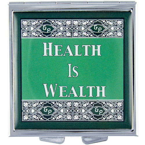 Health is Wealth - Got Pills? Personal Pillbox