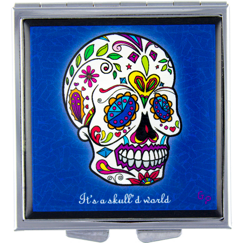 Skull'd World - Got Pills? Personal Pillbox