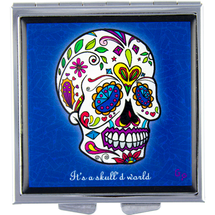 Skull'd World - Got Pills? Personal Pill Box