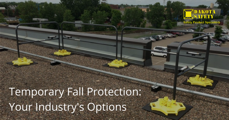 Temporary Fall Protection: Your Industry's Options - Dakota Safety