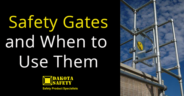 Safety Gates and When to Use Them - Dakota Safety