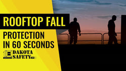 Passive guardrail fall protection in 60 seconds - Dakota Safety
