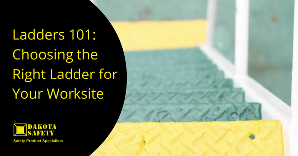 Ladders 101: Choosing the Right Ladder for Your Worksite - Dakota Safety