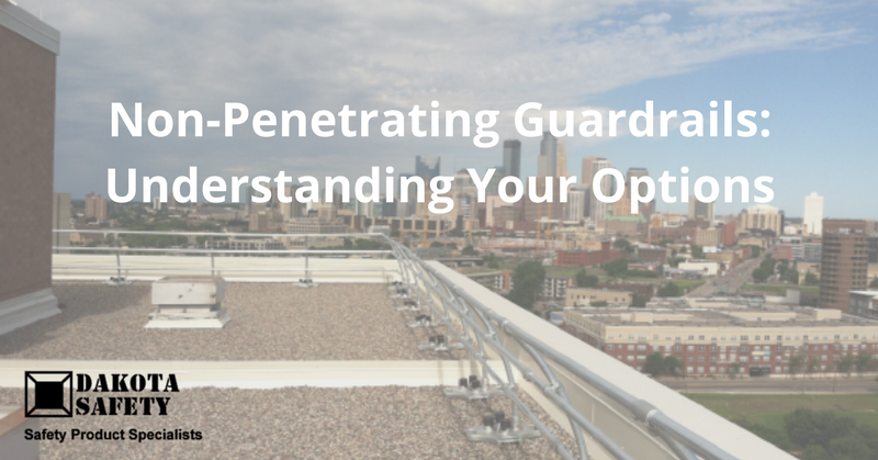 Non-Penetrating Guardrails: Understanding Your Options - Dakota Safety