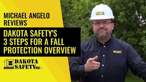 3 steps for a rooftop fall protection overview - Dakota Safety