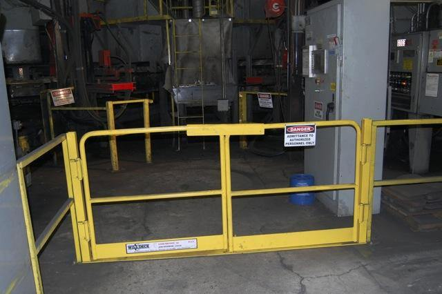 Self-Closing Safety Gates for Special Applications