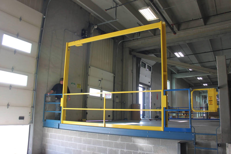 Vertical Mezzanine Gates - Dakota Safety