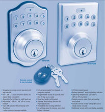 Load image into Gallery viewer, ER series Electronic Programmable Keypad Deadbolt Lock for Residential or Commercial Applications.