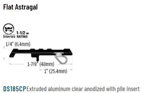 Surface Mounted Astragal Specifications