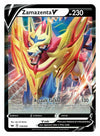 196/202 Zamazenta V | Rare Ultra Card Pokemon TCG Sword and Shield S&S Base Set - Recaptured LTD
