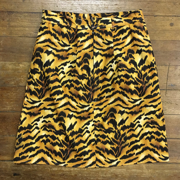 Jungle Girl Tiger Print Mini Skirt