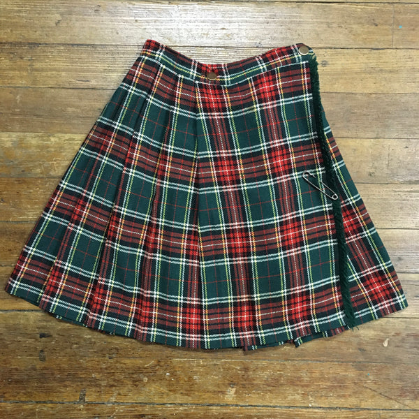 Delightful Red & Green Kilt
