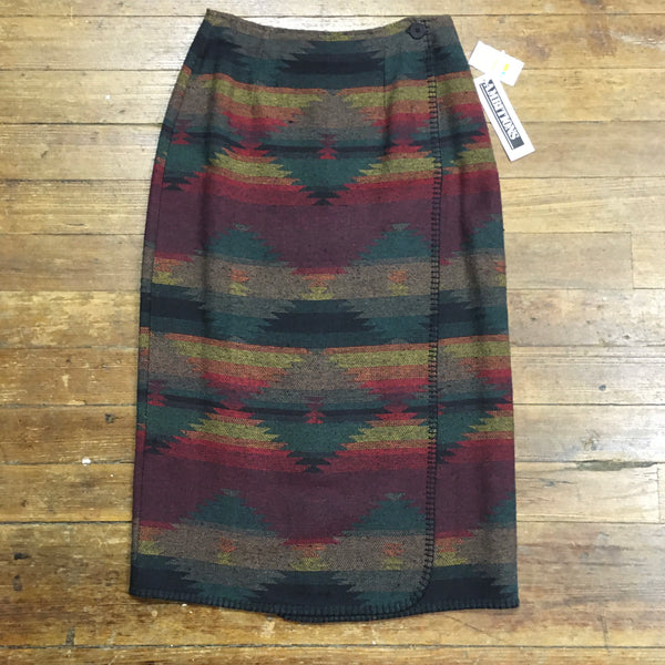 Brand New w/ Tags 90's Navajo Blanket Skirt