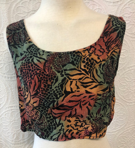 Perfect Summer Jungle Crop Top