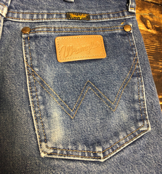 Perfectly classic 80s Wrangler Cut-offs with Long Fringe