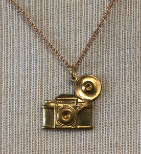 Cute little Camera Charmed Necklace