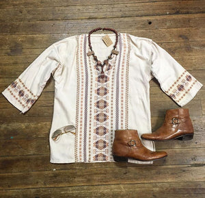 70's Mexican Tunic
