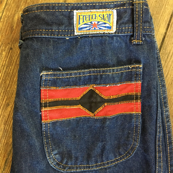 French Star Flared Jeans