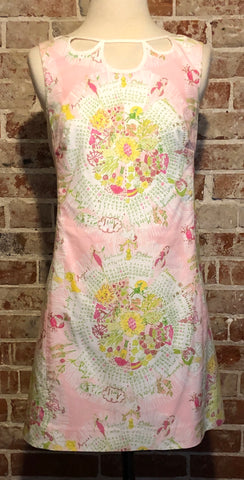 Rare and amazing Spring Lilly Pulitzer 2011 Calendar dress