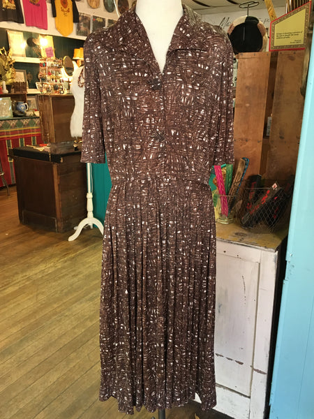 Mid Century Darling 50's Mr. Eddie Day Dress