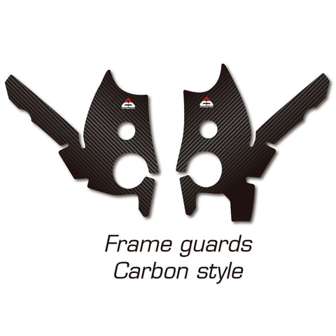 Frame Stickers Carbon style Tenere 700 Yamaha T7 XTZ-690 2019-2020