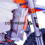 Radiator guards KTM EXC / EXC-F 2008-2016