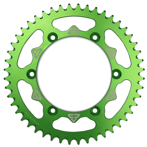 Rear sprocket Kawasaki Aluminium 48/50/52 T