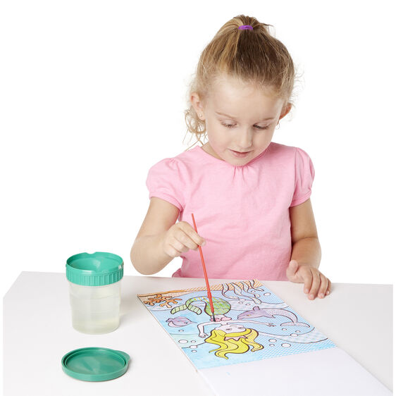 Melissa and Doug Paint With Water Cheerleaders, Flowers & Fairies