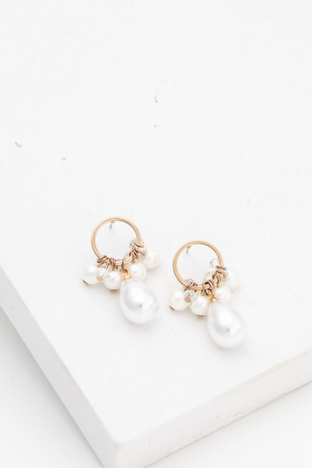 Lover's Tempo - Contessa Pearl Drop Earrings