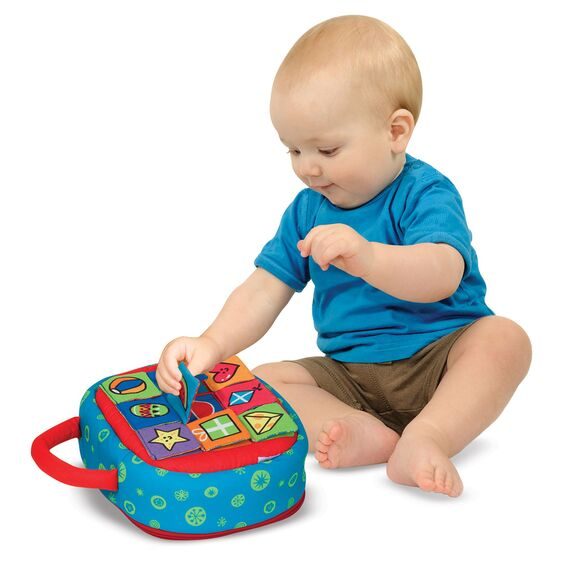 Melissa and Doug On The Go Shape Sorter