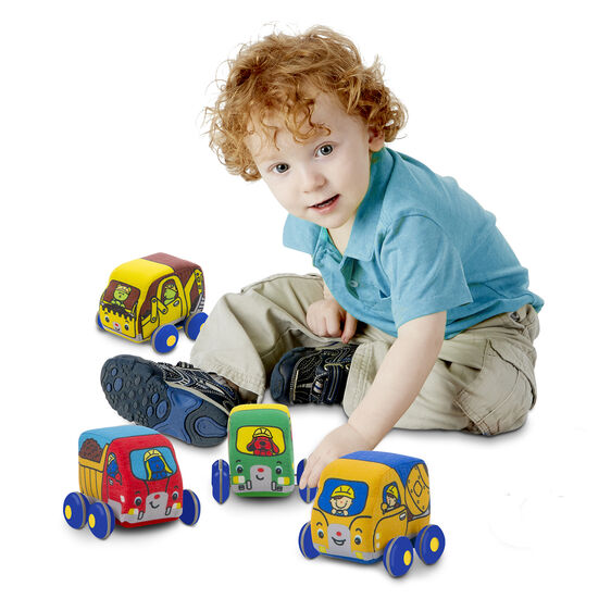 Melissa and Doug Pull Back Construction Vehicles
