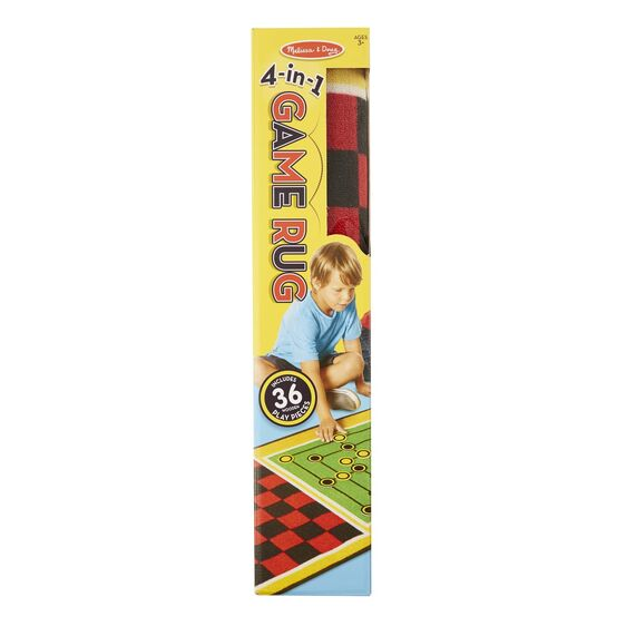 Melissa and Doug Game Rug 4-in1