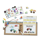 Melissa and Doug Play, Draw, Create Trucks