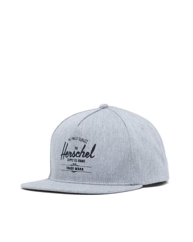Herschel Supply - Whaler Cap Heather Grey with Black