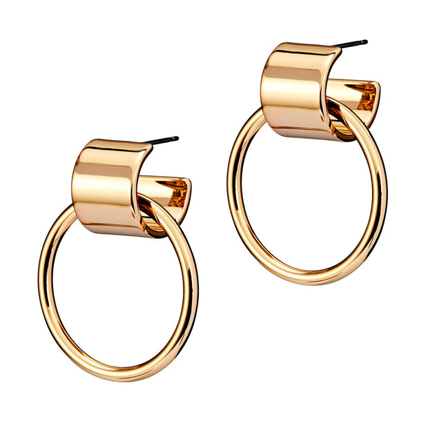 JENNY BIRD - Faye Knockers Earrings in Gold