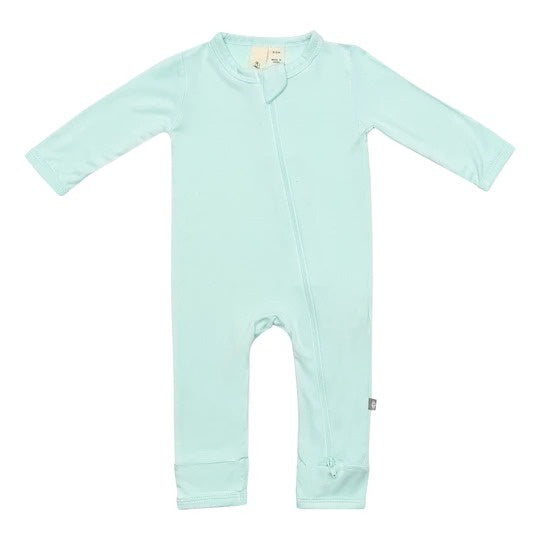 Kyte Baby - Zippered Romper Sea Mist