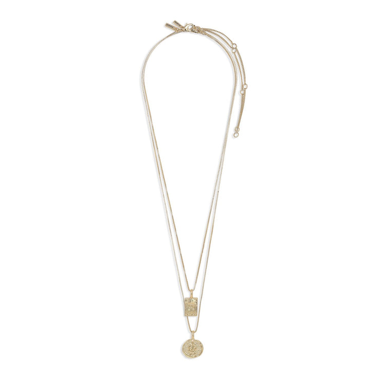 Pilgrim - Necklace Valkyria Gold Plated