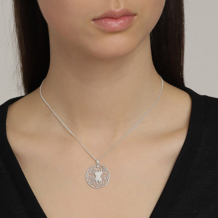 Pilgrim - Necklace Yggdrasil: Silver Plated