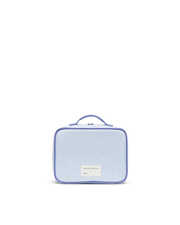 Herschel Supply - Pop Quiz Lunchbox Ballad Blue Pastel Crosshatch/Candy Pink/Dusted Periwinkle