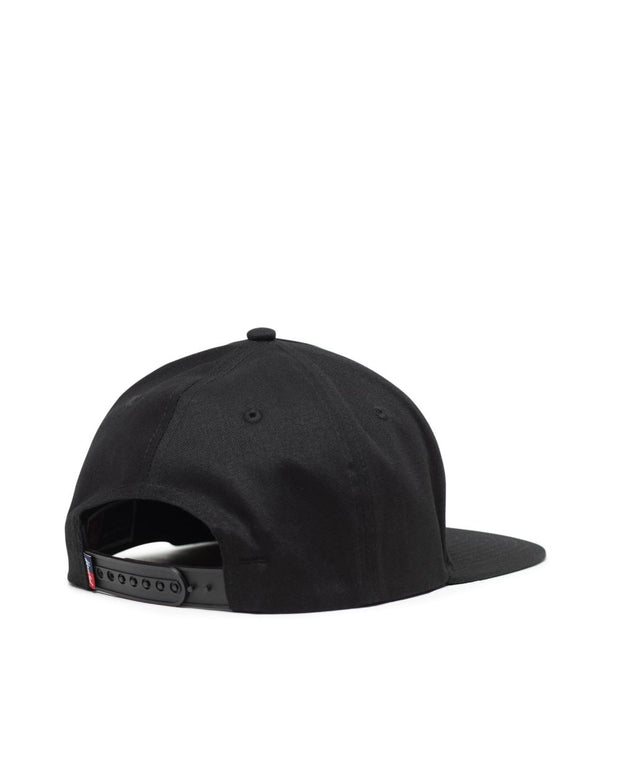 Herschel Supply - Whaler Cap Black with White