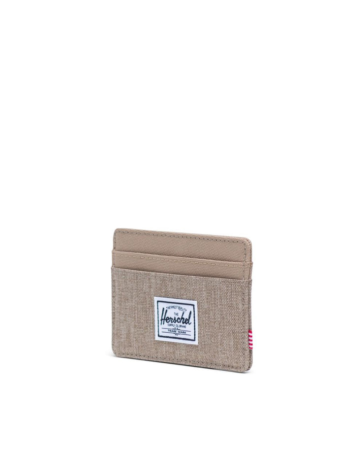 Herschel Supply - Charlie Wallet  Kelp Crosshatch