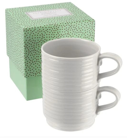 Sophie Conran for Portmeirion Set of 2 Stackable Cups
