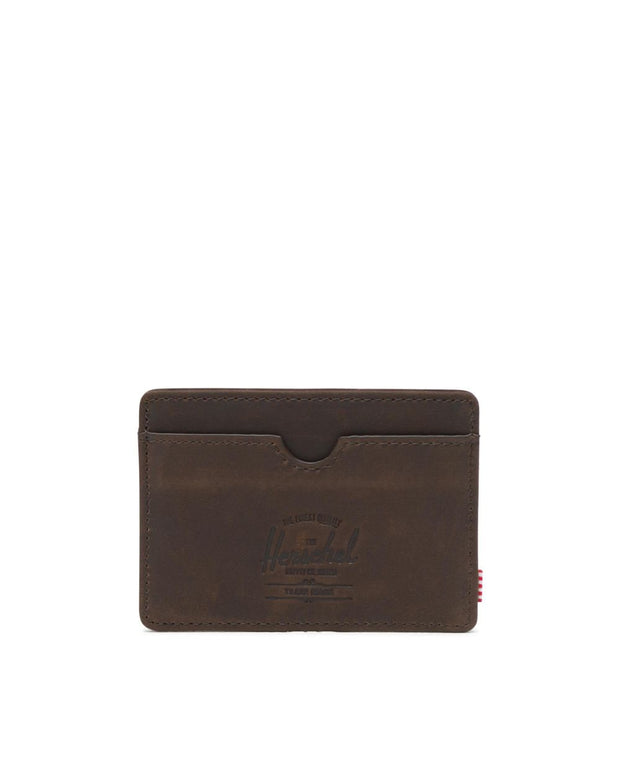 Herschel Supply - Charlie Wallet  Leather Nubuck