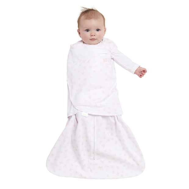 Halo - Platinum SleepSack Swaddle Blush Twinkle